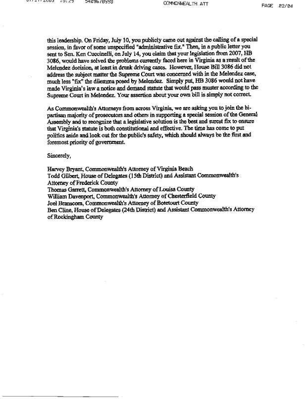 Letter to Steve Shannon From Commonwealth's Attorney's Page 2