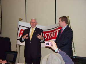 Congressman Mike Pence at CPAC